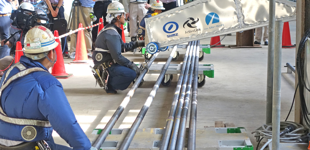 作業負担を軽減する「建設ロボット」の活躍に期待