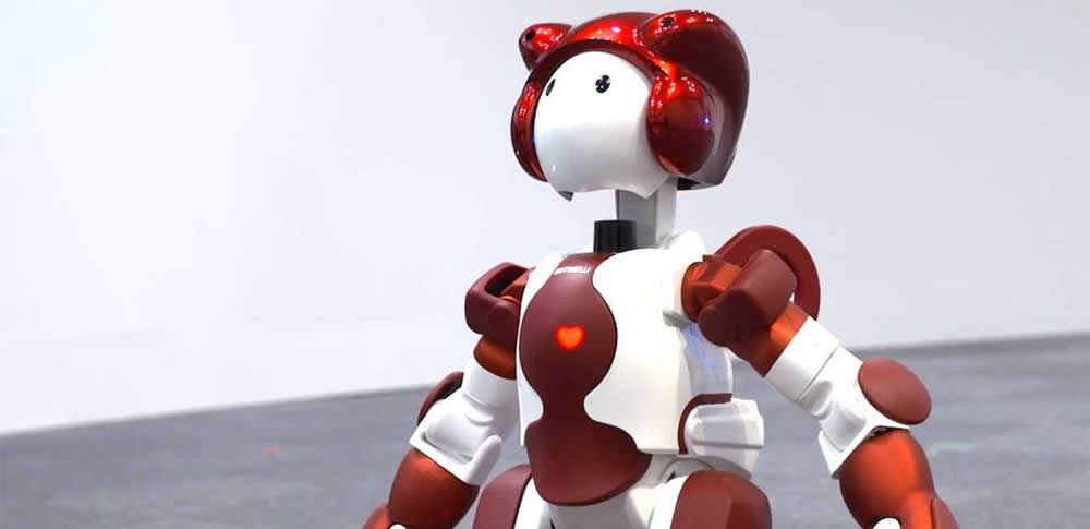 JR東日本と日立製作所、対話型ヒューマノイドロボット「EMIEW3」実証実験