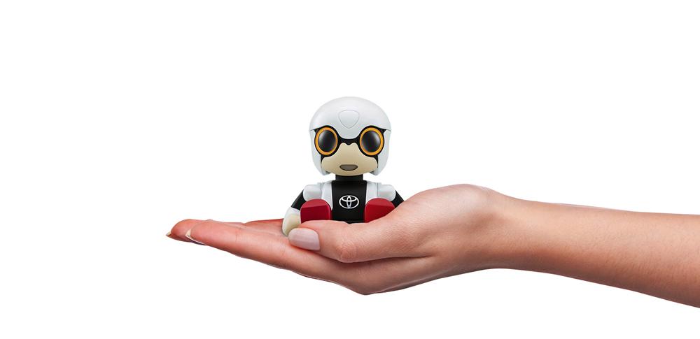 トヨタ、2016年冬に小型ロボット「KIROBO mini」の販売を決定