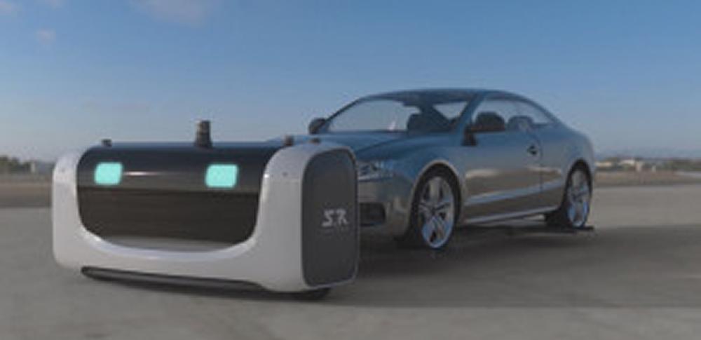 人工知能搭載ロボ「Stan」が空港駐車場で大活躍!マイカーを簡単にピックアップ