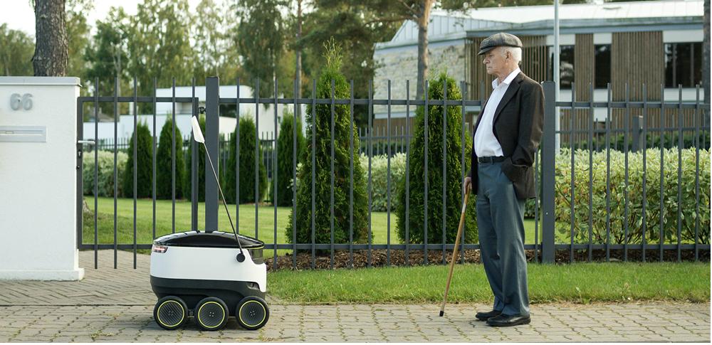 配送業界の救世主?各国で配達ロボットが続々投入