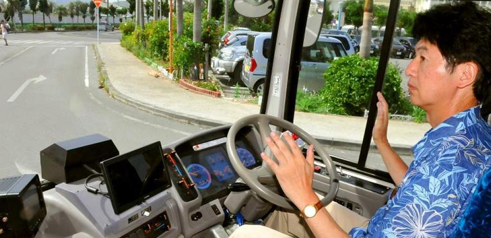 自動運転バスに乗車した感想「7割が安心」‐石垣市