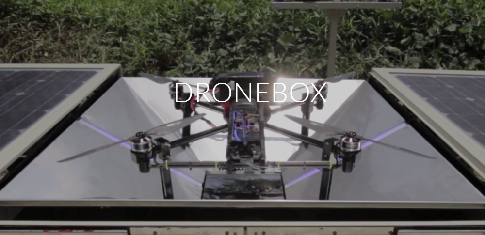 ついに日本で商用化!全自動運用ドローンシステム「DRONEBOX」