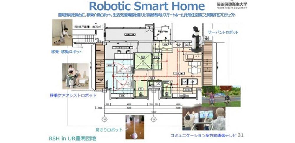 生活・介護ロボ研究実証拠点「ロボティックスマートホーム(RSH)」公開
