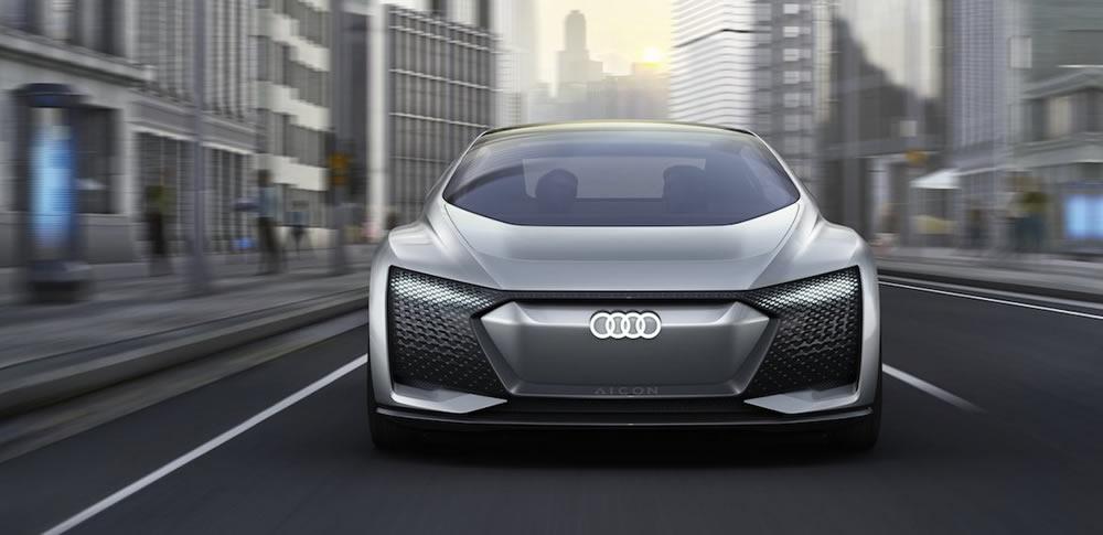 アウディ|自動運転レベル5「Audi Aicon」公開!完全ドライバーレス実現