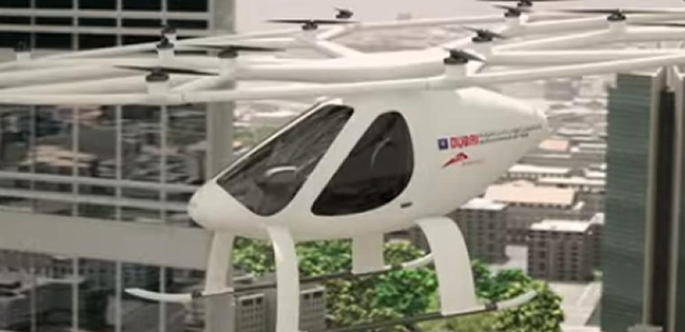 Volocopter社が「空飛ぶタクシー」の飛行試験を開始!