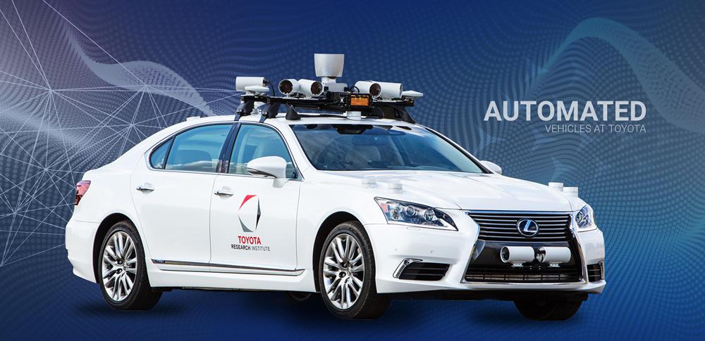 トヨタ、一般道走行の自動運転技術確率を目指すことを発表