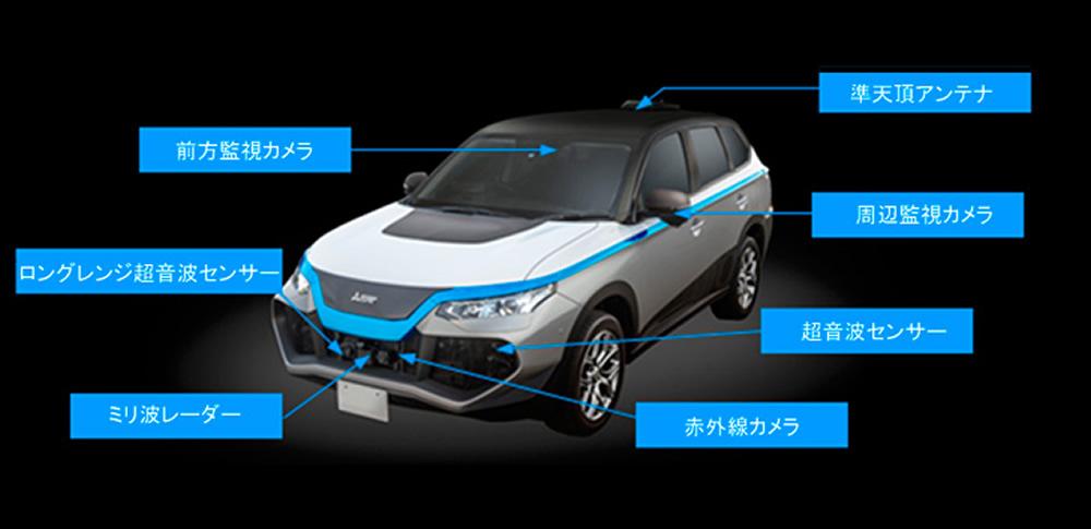 三菱電機|自動運転車「xAUTO」発表、東京モーターショー2017にて展示