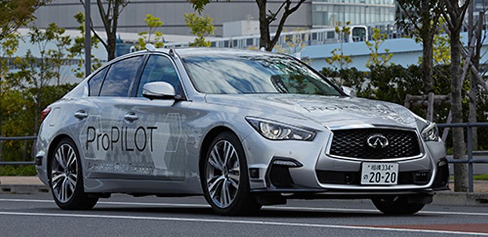 日産自動車が自動運転の公道テストを開始、2020年以降の実用化目指す