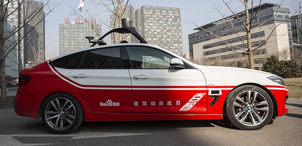 中国|百度(Baidu)、2018年に自動運転車量産を実施すると宣言