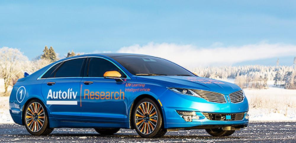 スウェーデンのオ―トリブ社、新型研究車両「LIV2.0」を発表