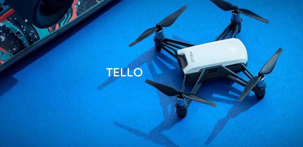 DJI×Intelの最先端技術、Ryze Techが玩具向けドローン「Tello」を発表