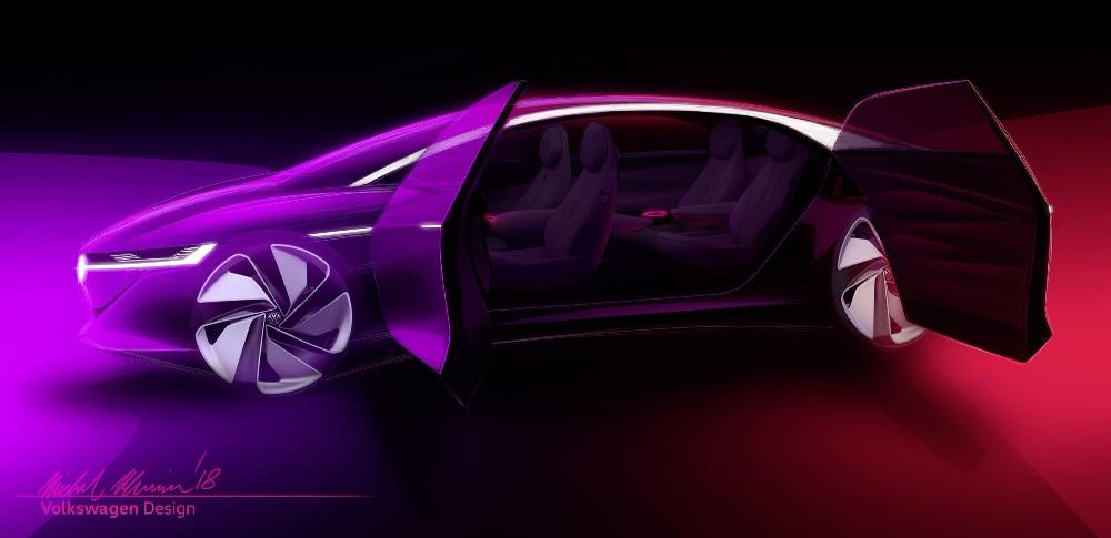フォルクスワーゲン|自動運転型EVコンセプトカー「I.D.VIZZION」公開を発表