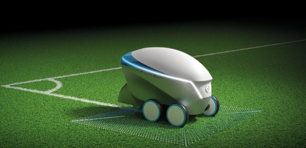 日産自動車が自動でピッチを引くロボット「ピッチアール」を公表!