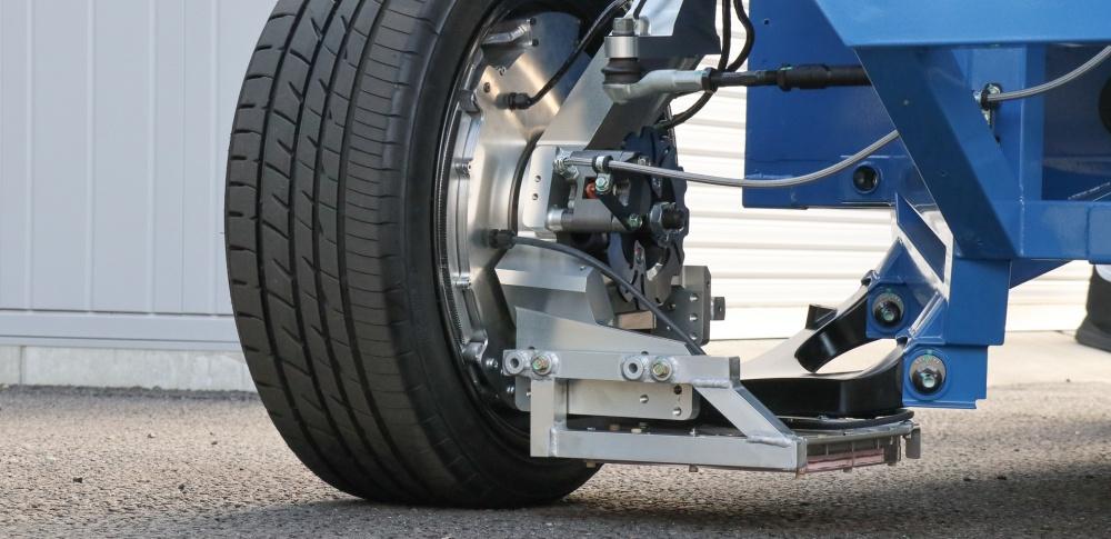 東大大学院などが受電タイヤの開発へ、2025年の実証実験を目指す