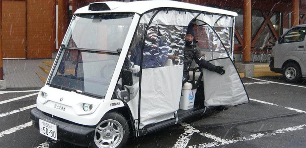 秋田県内で全国初の自動運転車の定期運航をスタート|国土交通省