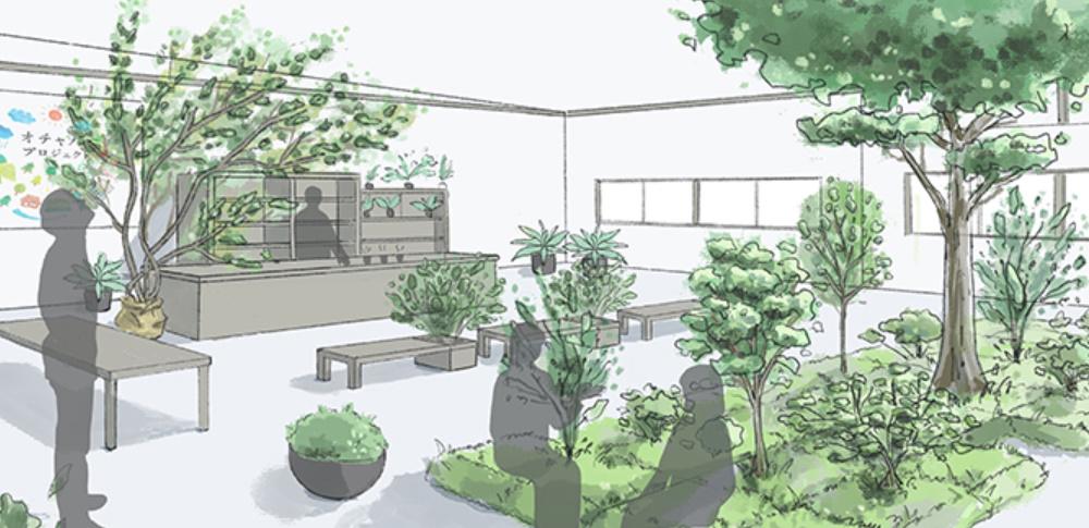 ISIDが自律移動ロボットで緑動かす、植栽展示会「CONNECT」で実証実験