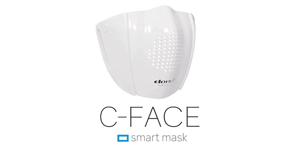 コロナ禍に技術で対抗!マスク型デバイス「C-FACE」予約販売開始