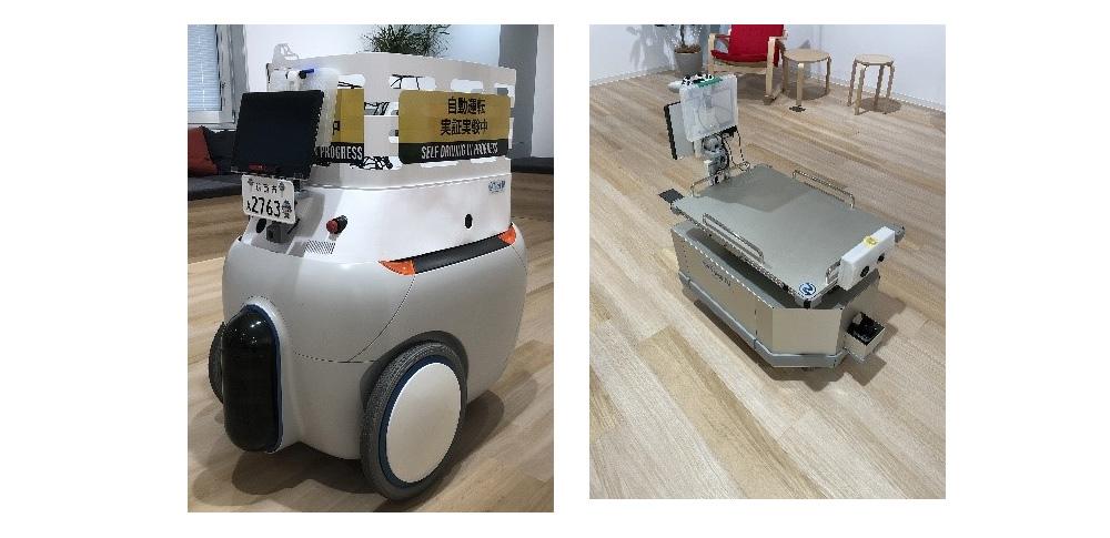 ロボット連携による農作物配送サービスを実証実験 茨城県筑西市